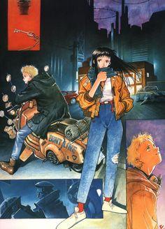 Various anime, manga, and video game fashion! Manga Art, Manga Anime, Anime Art, Aesthetic Art, Aesthetic Anime, Masakazu Katsura, Character Art, Character Design, Drawn Art
