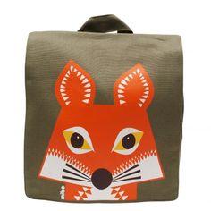 Organic Kids Backpack Fox