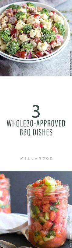 Whole30 BBQ Dishes