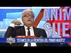 "Jorge Asís: ""Estamos en la frontera del primer muerto"" Fictional Characters, Small Talk, Writers, Animales, Fantasy Characters"