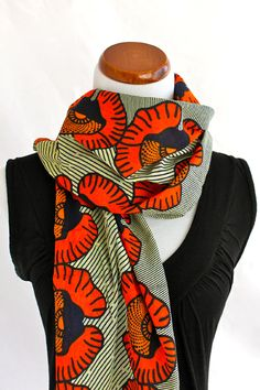OSISI printed scarf - LOVE!
