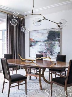 Interior Designer Elizabeth Martin Designs a Family-Friendly Residence in Silicon Valley - San Francisco Cottages & Gardens - April 2014 - S...