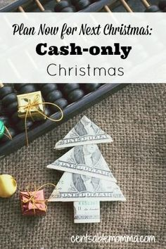 Does a cash-only Christmas sound impossible to you? Find out how to start saving now for Christmas next year and let go of the stress of paying for the holiday.