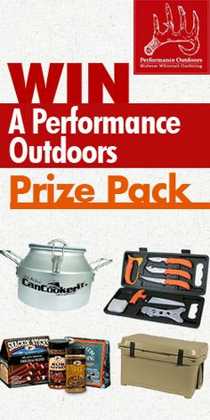 Win a Performance Outdoors Prize Pack