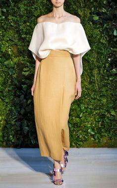 Flat Wrap Skirt by DELPOZO