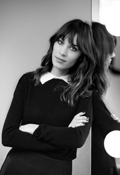 Alexa Chung in the Maje spring/summer 2013 campaign