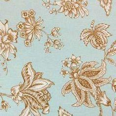 Custom Shower Curtain Braemore Oriel Aqua and by HomeLush on Etsy, $135.00