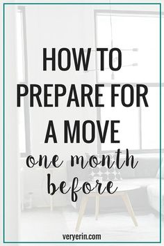 How We're Preparing For Our Move - One Month Before | Home Decor | Moving - Very Erin Blog