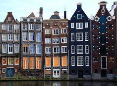 Amsterdam houses, Nederland