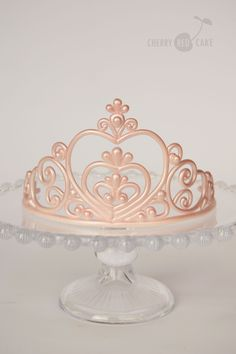 How to Make A Fondant Tiara: Fondant Tiara Template | Frosting ...