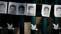 Mexican President Pena Nieto meets missing students' families - Source - BBC News - © 2014 BBC #Mexico, #Missing, #Students