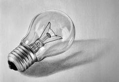 Light bulb by LazzzyV.deviantart.com on @DeviantArt