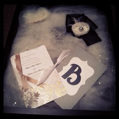 Shadow box your veil and other keepsakes from your wedding! Wasn't hard at all!