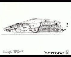 Classic Car News Pics And Videos From Around The World Lamborghini Diablo, Lamborghini Aventador, 70s Cars, Cars Land, Car Posters, Unique Cars, Transportation Design, Concept Cars, Motor Car