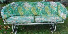 Mid Century Modern Eames Era Porch Glider Vintage Outdoor Furniture, Vintage Patio, Lawn Furniture, Retro Vintage, Modern Living, Mid-century Modern, Porch Glider, Metal Chairs, Gliders