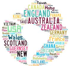 Looking for an engaging way to improve technology, literacy and social skills all in one go? QuadBlogging could just be the answer. This word cloud shows the countries that have the most participating QuadBlogging classes.