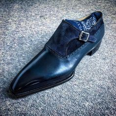 Men's Classic Monk Strap Dress Shoes Hot Shoes, Men S Shoes, Blue Shoes, Gentleman Shoes, Style Masculin, Mens Fashion Shoes, Dream Shoes, Formal Shoes, Luxury Shoes