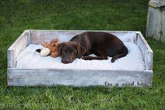 Dog Bed Tutorial - My Frugal Adventures