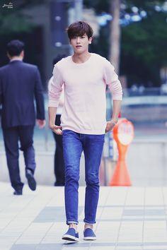 150728 Park Hyungsik at Drama High Society Ending Party