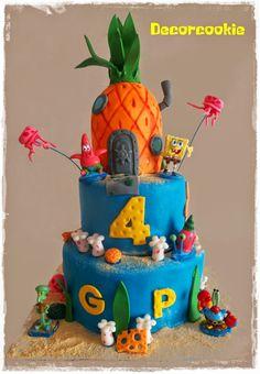 Tarta Bob Esponja  Sponge Bob Cake