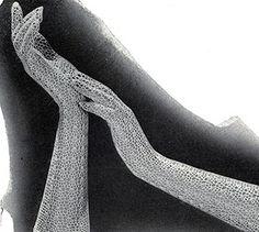 crocheted Deauville Gloves (free vintage crochet)