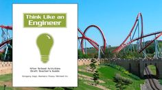 The Think Like an Engineer Teacher's Guide (draft) offers 8 different hands-on activities that focus on real-world science challenges. Engineering Science, Engineering Projects, Science Projects, 6th Grade Science, Middle School Science, Elementary Science, Kinetic And Potential Energy, Steam Education, Stem Learning