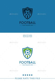 Soccer Logo by Exe-Design Font used: - Futura Files included: - vector file - AI, EPS, PSD
