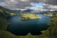 Cuicocha Crater, Ecuador by ©haddock, via Flickr