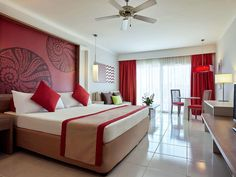 Book a vacation package to Pullman Cayo Coco in Cayo Coco. Pullman Cayo Coco, Cayo Coco Cuba, Vacation Packages, Bed, Room, Furniture, Home Decor, Travel, Bedroom