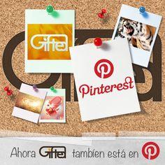 ¡Ahora Gifted también está en Pinterest!