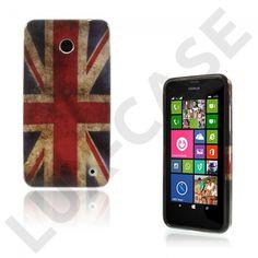 Westergaard (Vintage UK flagg) Nokia Lumia 630 / 635 Deksel