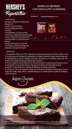 Una deliciosa receta preparada con Cocoa Hershey's® y Chispas de chocolate…