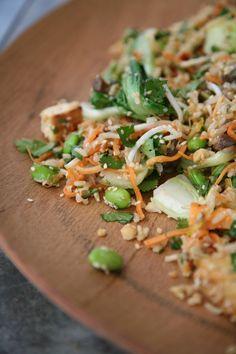 Wholesome Brown Rice & Edamame Salad