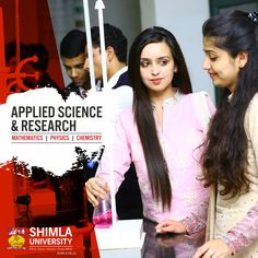 Shimla University has setup State of the art Applied Science Laboratories which includes Chemistry and Physics Labs that can act as centre for true learning for the Engineering students who want to learn the basic concepts and strong foundation in the field of Applied Sciences. Explore more at http://bit.ly/2tnjaai or call at +91-9816222000, 18004198654 (Toll Free).