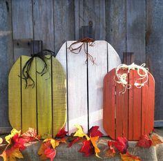 Citrouilles d'automne génial Palette bois par LowerArkCrafts