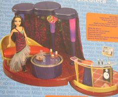 My Scene the Sound Lounge Special Edition Playset with Night on the Town Nolee doll, working lights and disco ball by Mattel, 2003