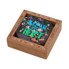 Leah Flores Break My Heart Coaster Set | DENY Designs Home Accessories