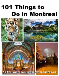 1. Aqua Dome - is an indoor water park with two pools and three waterslides.      2. Rafting Montreal  and Jetboating - go white water r...