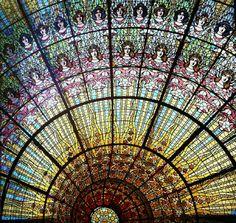 Palau de la musica catalana (stained glass)
