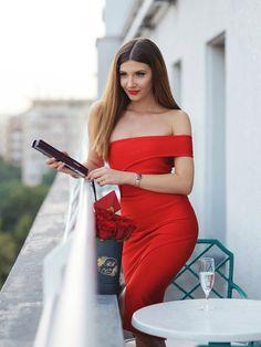Sheath Column Red Short Prom Dress Chic Evening Dress Formal Dress SKY970 9fc3b5a97