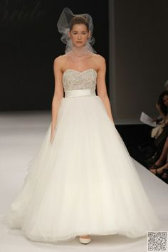 5. #Beaded Bodice #Wedding Gown Trend... - 8 Fab Wedding Gown Trends for #Summer 2012... → Wedding #Trends