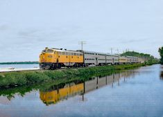 Railroad Industry, Milwaukee Road, Rail Car, Round House, Train Tracks, Chicago, United States, Swimming, American