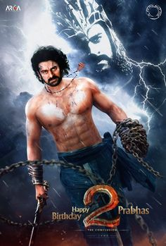 Bahubali 2 The Conclusion Movie first Look Released | Happy Birthday Prabhas