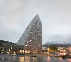 Norwegian Mountaineering Center by Reiulf Ramstad, Oslo – Norway » Retail Design Blog