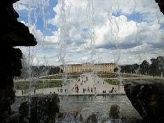 Si algo hay representativo en Viena a parte de la música, ese es el palacio Schonbrunn