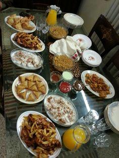 Iftar in the true pakistani way..