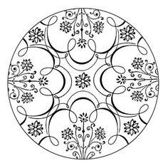 Mandala Art | Mandala Floral 1 and 2