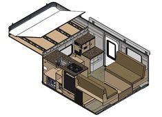 Grandby flat bed model pop up truck camper for full size trucks with long bed lengths. Truck Camper Shells, Truck Bed Camper, Pickup Camper, Truck Camping, Camper Trailers, Camper Tops, Pop Top Camper, Slide In Truck Campers, Cool Campers