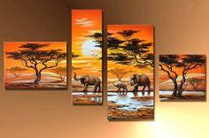 Resultado de imagen para cuadros africanos