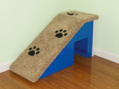 """18""""Tall Dog Ramp. Pick any color to match your decor. Hand made & custom built in the USA. Dog stairs, Pet Steps"""
